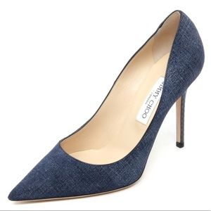 Jimmy Choo - Abel Pump  - Light Indigo/ Navy